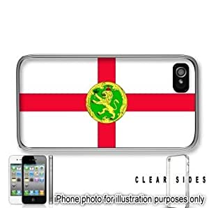 Alderney Flag Apple iPhone 6 plus Case Cover Clear on Sides