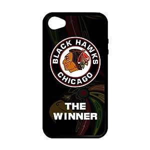 Custom Unique Design NHL Chicago Blackhawks Case For HTC One M7 Cover Silicone Case