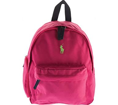 c67dd1424a20 Polo Ralph Lauren Kids East Hampton Backpack Fuchsia Navy Lime Pop 1  Backpack Bags
