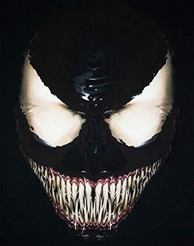 Venom T Marvel Men's shirt Face dxhsQCtr
