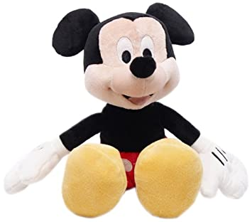 Posh Paws International - Ratón de peluche Mickey Mouse