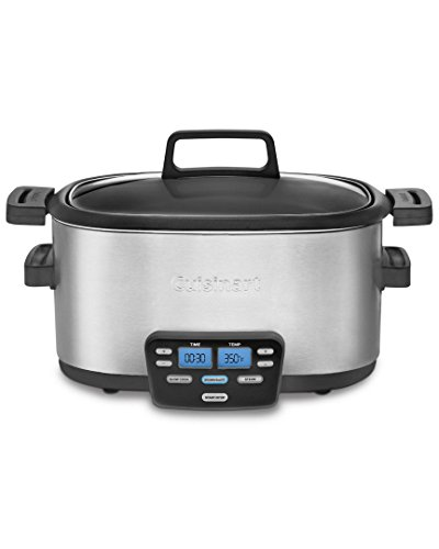 Cuisinart cook central slow cooker 3-in-1 6 quart