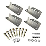 Renogy Solar Panel Mounting Z Bracket Set of 4 Units