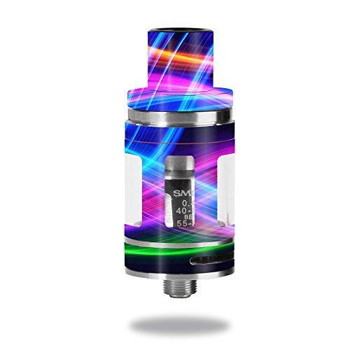 Skin For Smok Micro TFV8 Baby Beast  Light Waves | MightySkins Protective, Durable, and Unique Vinyl Decal wrap cover | Easy To Apply, Remove, and Change Styles | Made in the USA