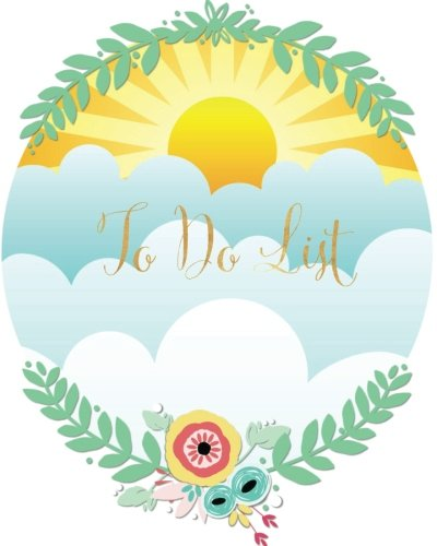 Read Online To Do List: Smile Sunshine Design  My To Do List Journal: Plan your day ahead To use at school, home, office and more 100 pages 8x10in Large pdf