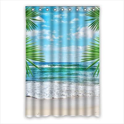 Dalliy para l Summer disfraz cortina de la ducha Shower Curtain ...