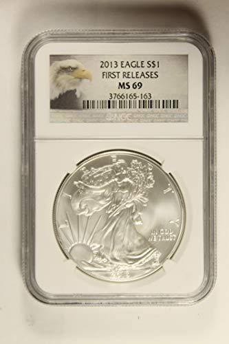 2013 Eagle - 2013 American Eagle $1 MS69 NGC