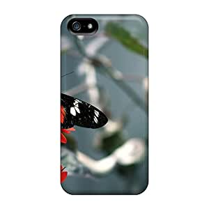 XUQ2140dSyW Butterfly Fashion Tpu 5/5s Case Cover For Iphone