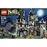 Toy / Game Fantastic LEGO Monster Fighters 9468 Vampyre Castle With 4 Weapons, Hero Car And Net Launcher