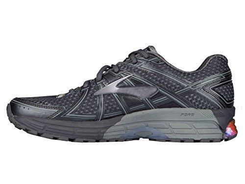 Brooks Mens Adrenaline GTS 17 Night Sky/Anthracite/Primer Grey Nylon Running Shoes 14 M US