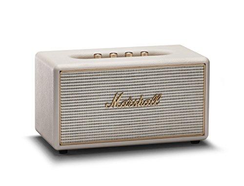 Marshall Stanmore Wireless Multi-Room Wi-Fi and Bluetooth Speaker, Cream