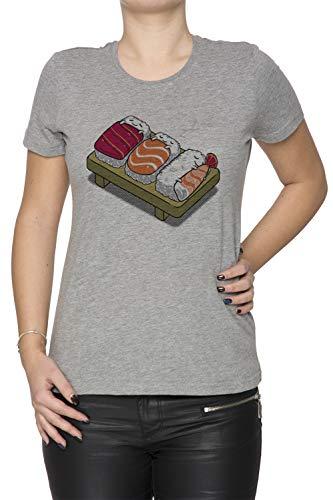 a Tutti T Grigio Sizes T Girocollo Grigio Maniche Corte Donna Shirt all Shirt Sushi Tardi' Women's Fino Grey Sushi Dormire Dimensioni 705wx5