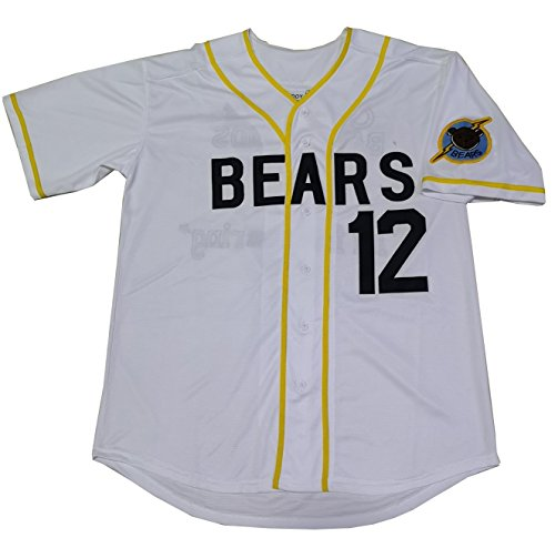 Kooy Tanner Boyle #12 Bad News Bears Movie 1976 Chico's Bail Bonds Baseball Jersey (2XL)