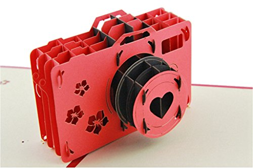IShareCards Handmade 3D Pop Up Greeting Cards for Every Occasion – Garderobe Wardrobe (Lomo Camera)