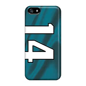 Scratch Protection Hard Cell-phone Cases For Iphone 5/5s With Provide Private Custom Vivid Jacksonville Jaguars Pictures VIVIENRowland