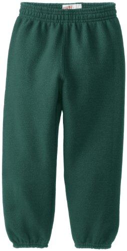 Soffe Little Boys' Heavyweight Sweat Pant, Dark Green, Small (Green Sweatpants Kids)
