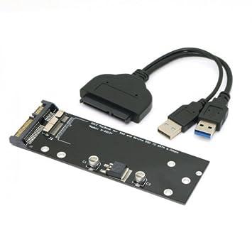 USB 3.0 A 17 + ssd 7pin HDD a SATA 22pin Unidad de Cartucho de ...