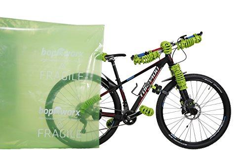 Bopworx Heavy Duty Bicycle Polythene Travel Bag - Ideal Cover For Bike Transportation and Storage by Bopworx (Image #3)