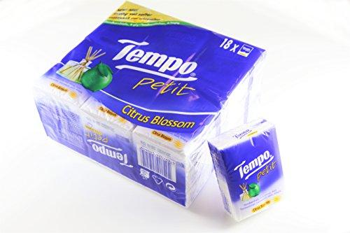 TEMPO (テンポ) ティッシュ (シトラスブロッサム Citrus Blossom 18個入)