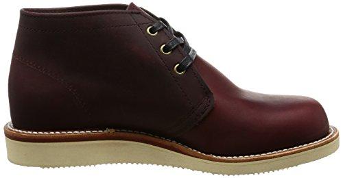 Chippewa Bur Herren Desert Boots Burgundy