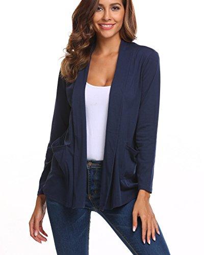 Lightweight Cotton Cardigan Sweater - 9