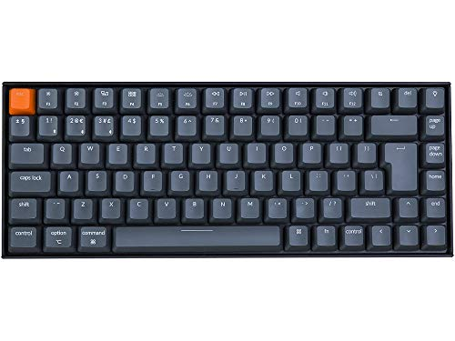 UK Keychron K2v2 Bluetooth RGB Backlit Linear Mac Keyboard