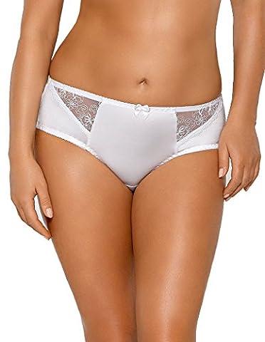 Nipplex Barbara White Brief BAR-BIA-FIG Small - Barbara Women Underwear