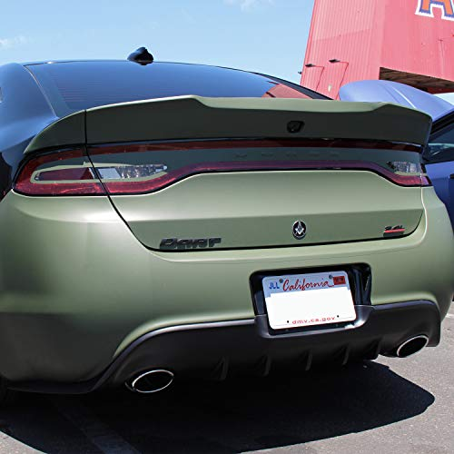 Demon Style Body Kit - KBD Body Kits Compatible with Dodge Dart 2013-2016 Demon Style 3 Piece Flexfit Polyurethane Rear Wing Spoiler. Extremely Durable, Easy Installation, Guaranteed Fitment, Made in the USA!