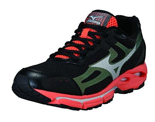 arancio Nero Da In Sneakers Risoluto Esecuzione 2 Mizuno Scarpe Uomo Ginnastica Wave vW6wACSq4P