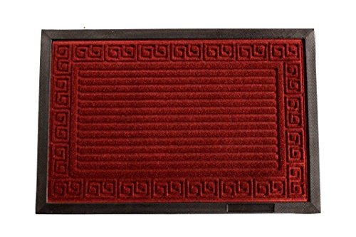 yk-decor-rubber-backed-rug-red-stripe-engraved-outdoor-mat-ship-from-us