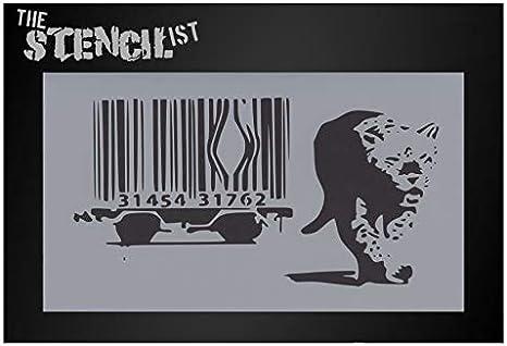 Jaguar car logo wall art stencil,Strong,Reusable,Recyclable