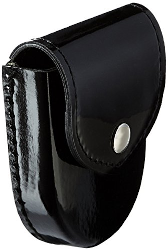 Safariland Duty Gear Chrome Snap Flap Top Handcuff Case (High Gloss Black)