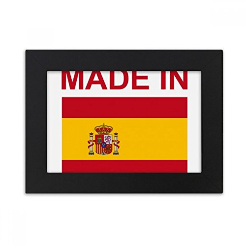 DIYthinker Made In Spain Country Love Desktop Photo Frame Black Picture Art Painting 5x7 inch by DIYthinker
