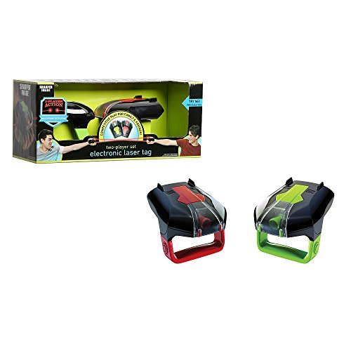 Laser Tag Electronic Game - Two Player Set - Lights, Vibration & Sound, Infrared Technology