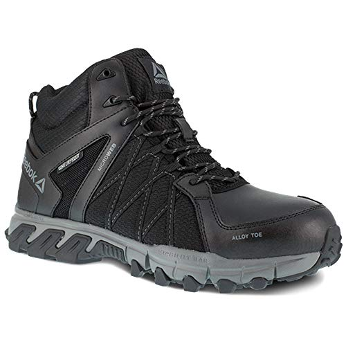 Reebok Work Men's Trailgrip Work Black/Grey 10.5 D US