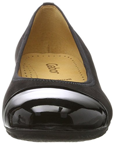 Gabor Women's Casual Ballet Flats Black (17 Schwarz) ebay for sale buy cheap perfect fast delivery online cheap limited edition spPNCq