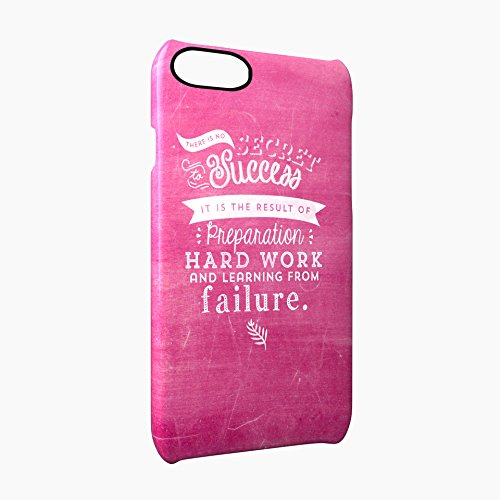Success Is Hard Work And Learning From Failure Glossy Hard Snap-On Protective iPhone 7 Case Cover