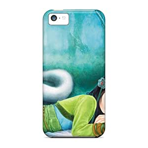 Hard Plastic Iphone 5c Case Back Cover,hot Green Snake White Snake Case At Perfect Diy