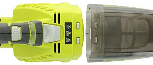 Ryobi P714K One plus 18 Volt Lithium Cordless Wall Mounted Hand Vacuum Kit Green