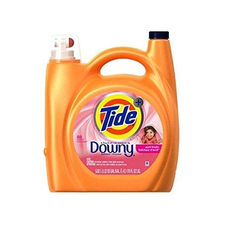 Tide Plus Downy Laundry Detergent, April Fresh (170 oz., ...
