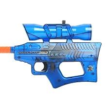 Soft Air 39956-W Cyber Stryke X4 Mini Electric Airsoft Gun (Blue)