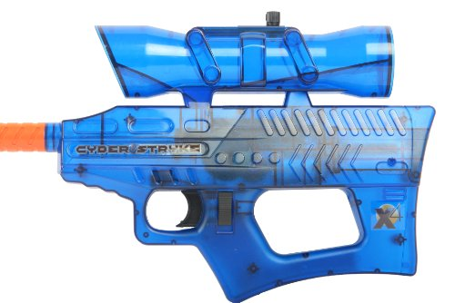 Soft Air Cyber Stryke X4 Mini Electric Airsoft Gun, Blue by Soft Air