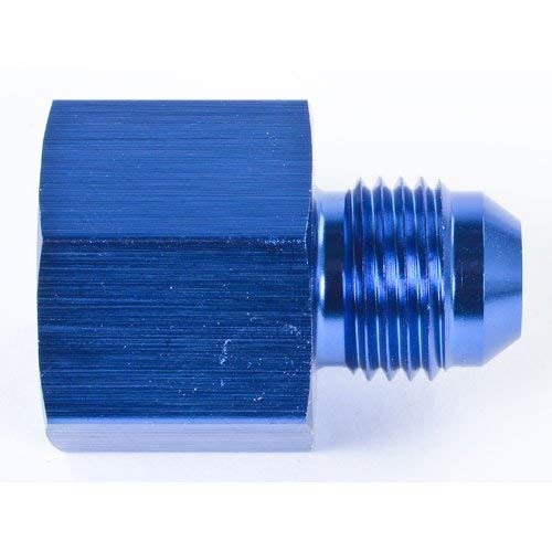 Russell 641300 Blue 6AN Male to 1//4 Female EFI Fuel Fitting