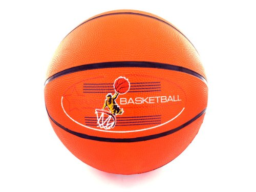 Bulk Buys Rubber Basketball - Pack of 20