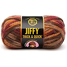 Lion Brand Yarn 430-212A Jiffy Thick and Quick Yarn, Adirondacks