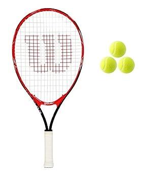 Wilson Tour Junior 19,21,23,25 raqueta de tenis + 3 Pelotas