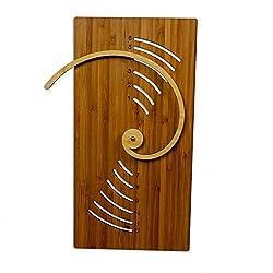 Cardboard Safari Fibonacci Wall Clock