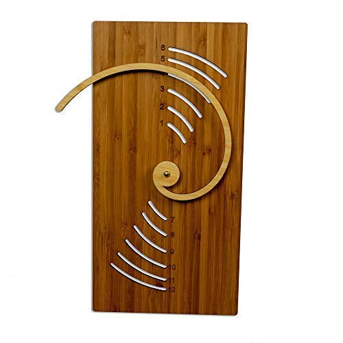 Cardboard Safari Fibonacci Wall Clock