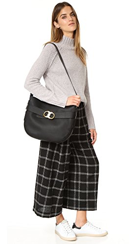 Gemini Belted in Black Tory Hobo Burch OqEwpWFp5n