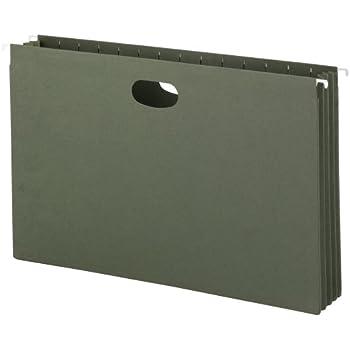 Amazon Com Smead Hanging File Pocket 3 1 2 Inch